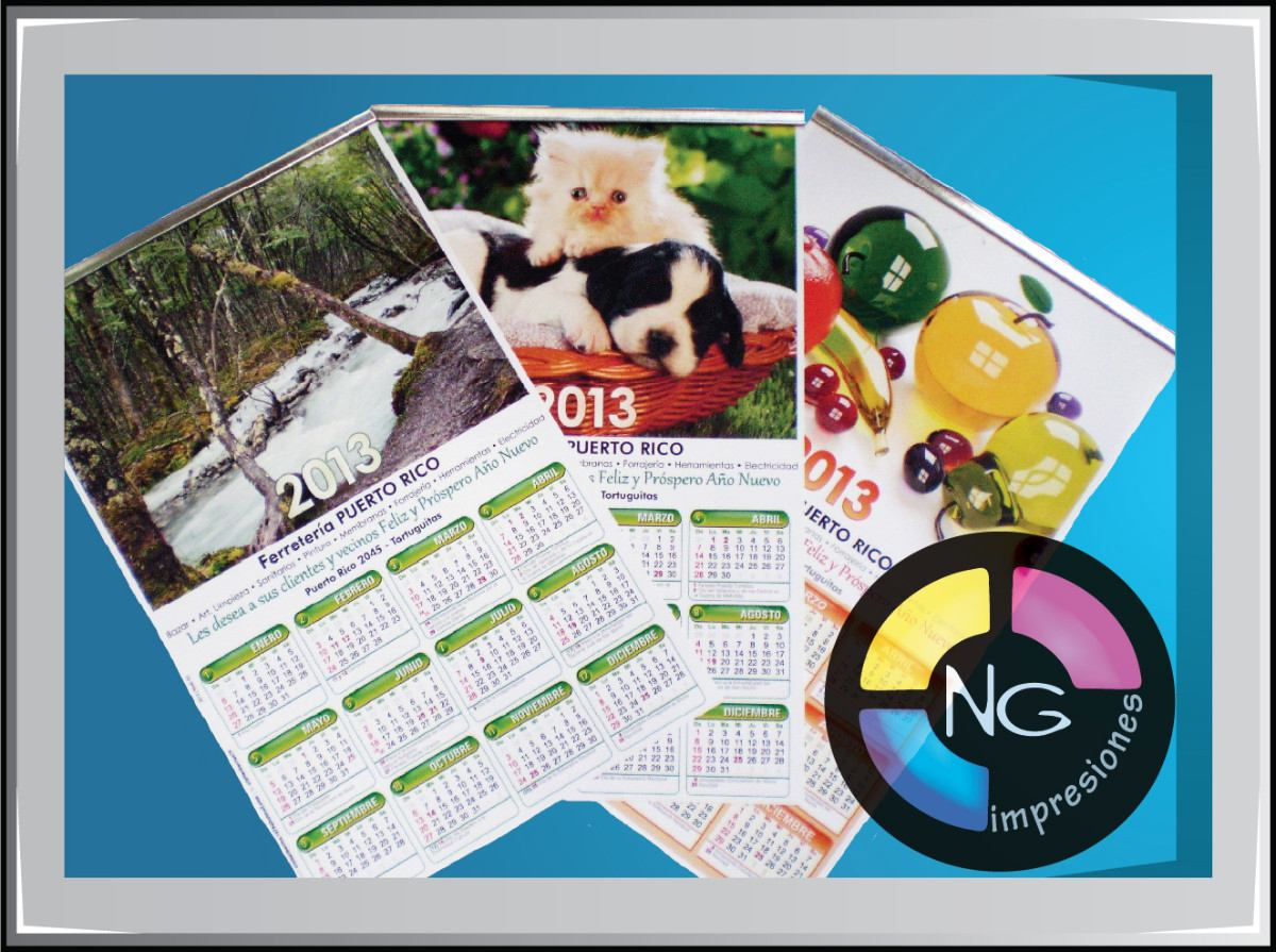 Calendarios Personalizados 2013