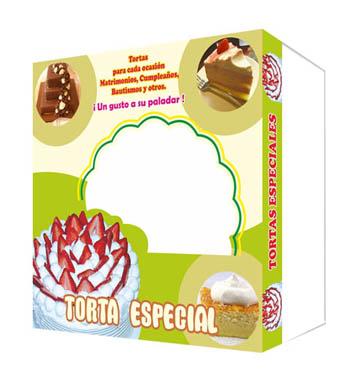Caja de Tortas con diseño